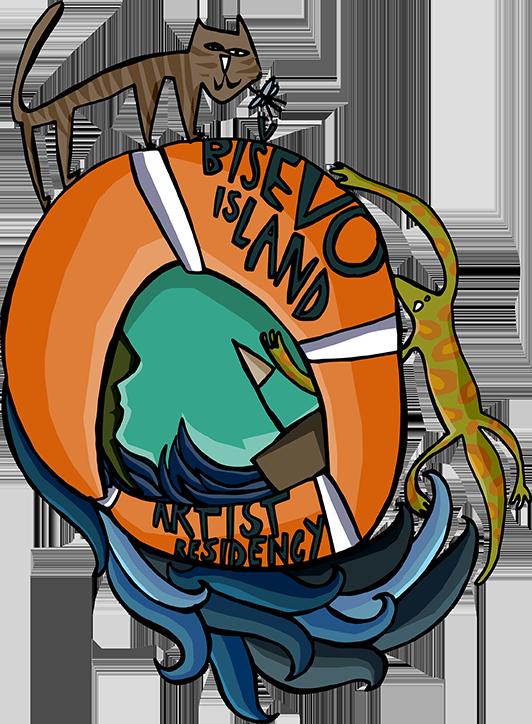 Bisevo Island Artist Residency Logo