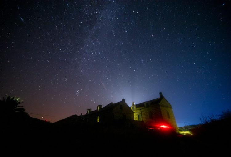 Mjerenje kvalitete noćnog neba na otoku Biševu